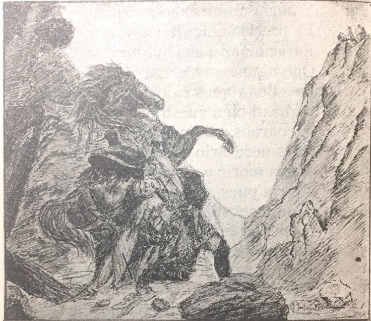 La batalla de Roncesvalles por Juan Infante Lobalinas