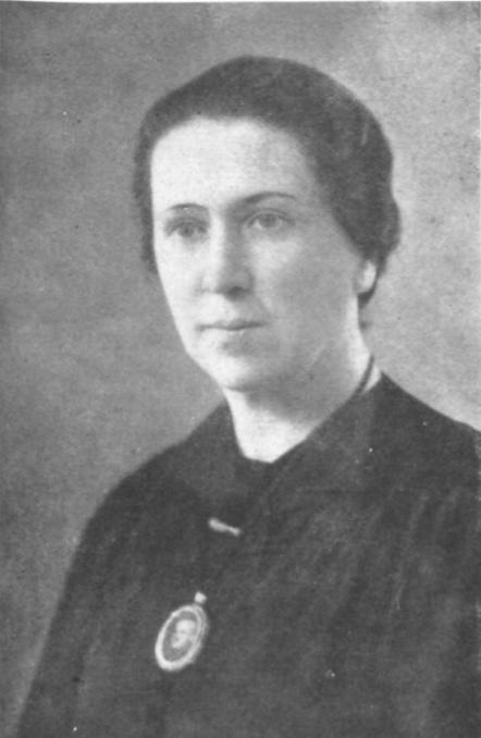 Dña. Josefina Alonso, madre de Enrique Goded.