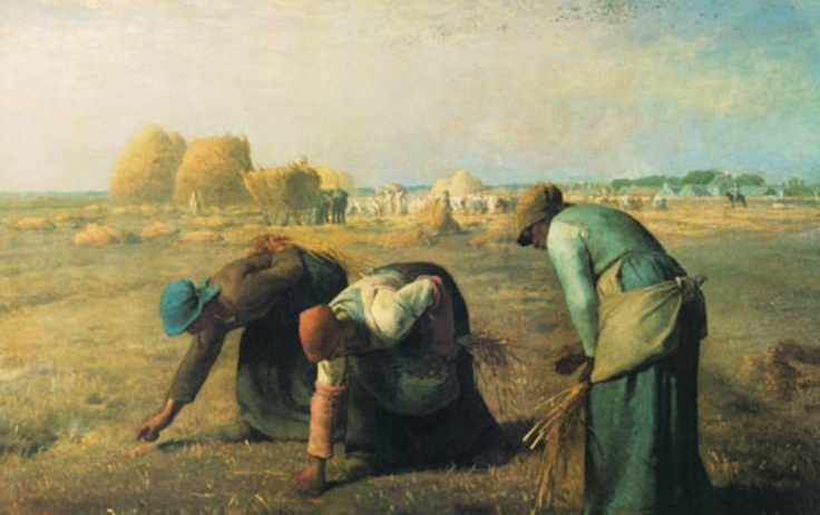 Las Espigadoras de Jean-François Millet (1857).