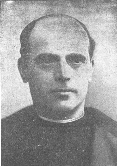 Eustaquio Nieto Martín en 1914, párroco de la Concepción.